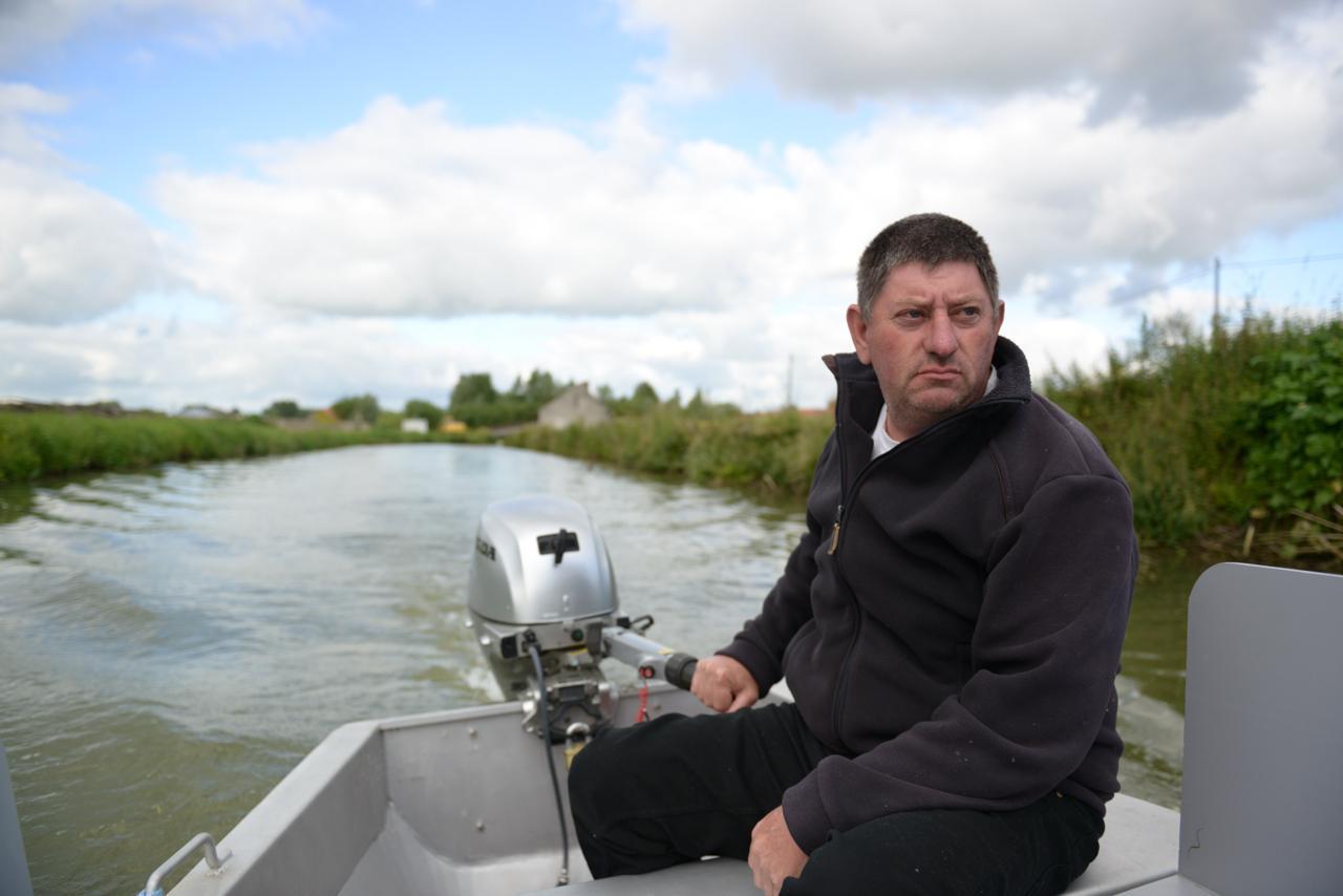 Christian, votre guide sur le marais audomarois